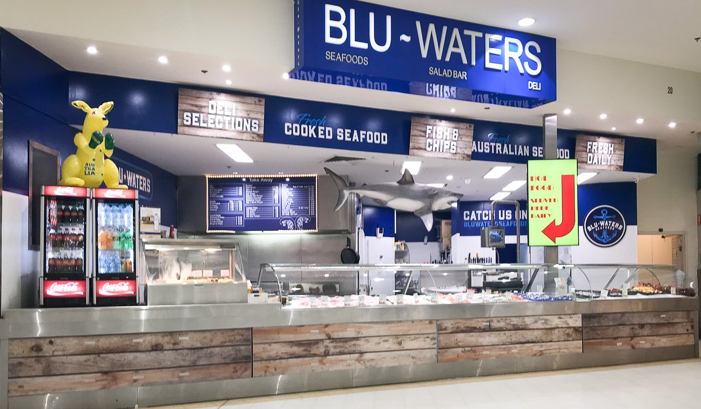 Blu Waters Seafoods Lilydale Fish Shop